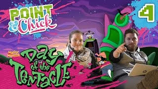 [4] Day Of The Tentacle mit Hauke und Isa | Point & Chick | 15.10.2015