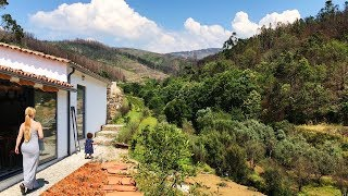 Our Dream House In Central Portugal 😲 With It's Own Stream! Wow