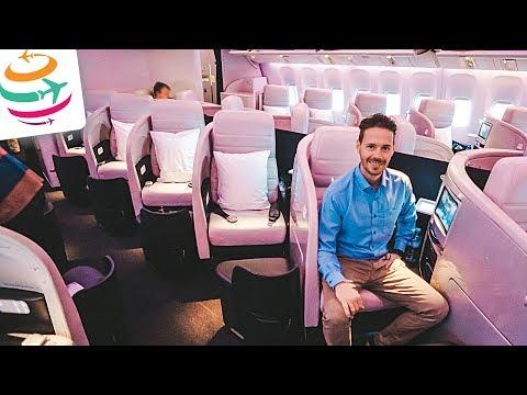Air New Zealand Business Class 777-200ER AKL-SYD | GlobalTraveler.TV