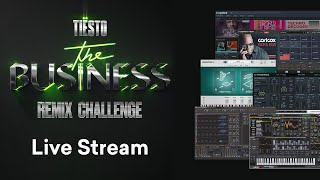 """Tiësto """"The Business"""" Remix Contest 8000+ in Prizes Much More"""