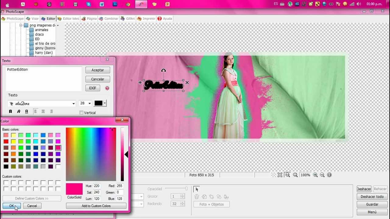 Tutorial como hacer una linda portada para facebook en - Como alicatar una pared ...