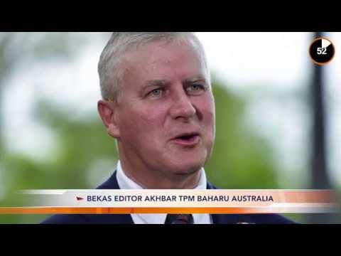 Front Desk : Bekas editor akhbar TPM Baharu Australia