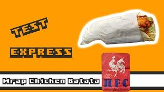 Wrap Chicken Batata - HFC - Test Express