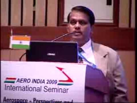 India's AEW&C programme - Dr. S. Christopher at Aero India 2009 02 of 03