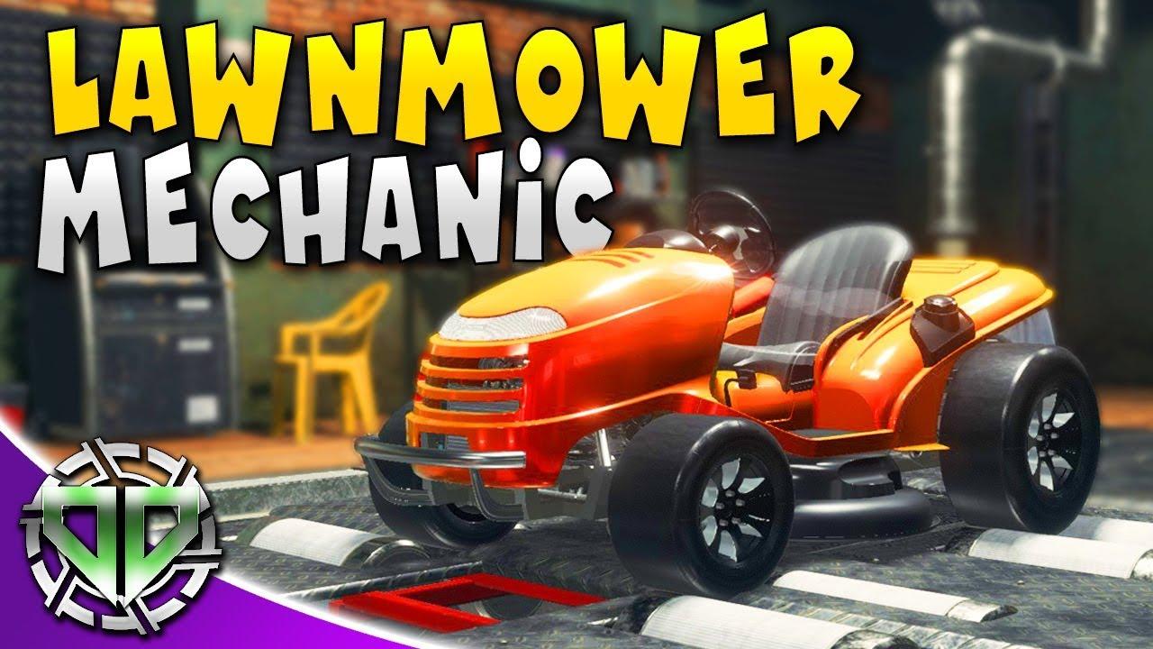HONDA LAWNMOWER MECHANIC : Car Mechanic Simulator 2018