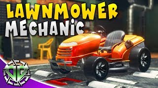 HONDA LAWNMOWER MECHANIC : Car Mechanic Simulator 2018 Gameplay