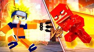 Baixar Minecraft: HERÓIS PVP - NARUTO vs FLASH!
