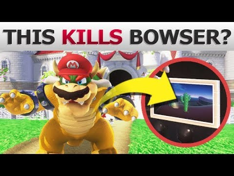 What Can Bowser Do in EVERY Kingdom?   Super Mario Odyssey