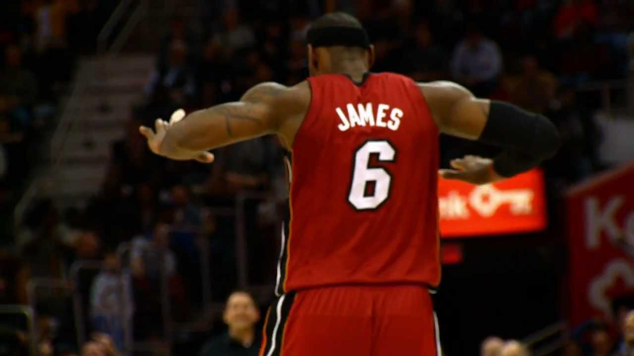 Phantom: LeBron James' Triple-Double Leads the Heat