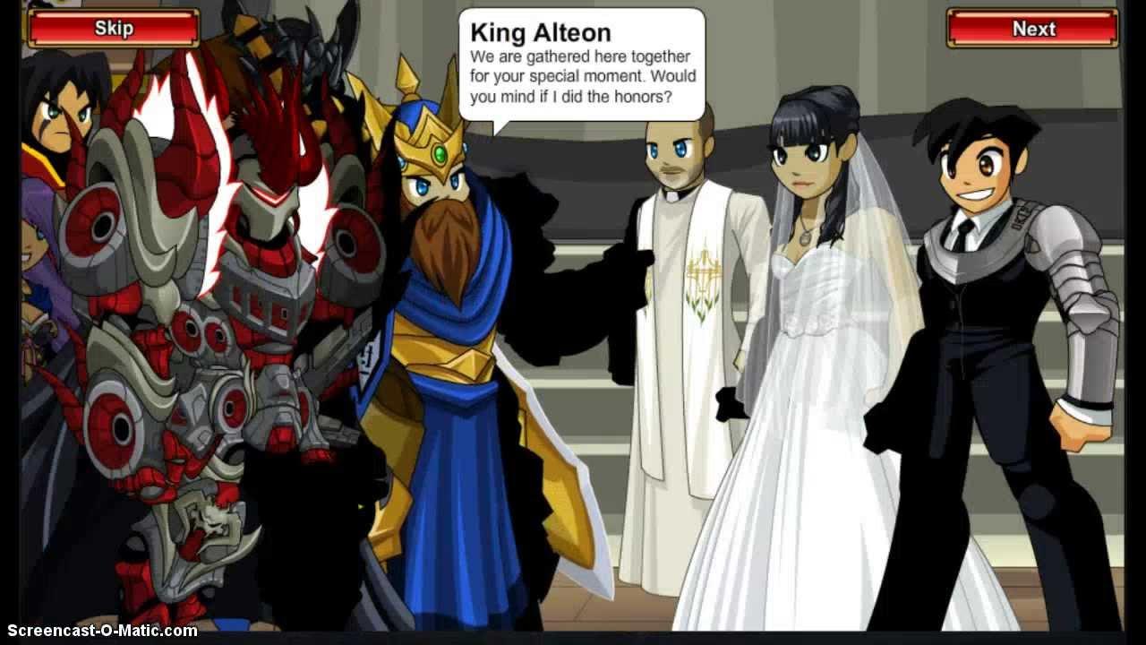 =AQW= ARTIX'S WEDDING CUTSCENE [P2]