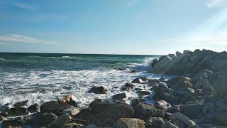 Геленджик LIFE и бушующее море