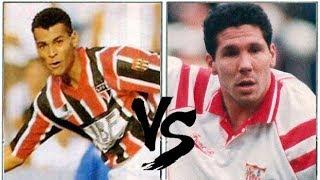CAFÚ VS SIMEONE (1993) - São Paulo x Sevilla // Dos Jovens