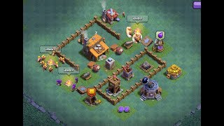 Builder Hall 3 | Bh3 troll base + replays | Base del constructor nvl 3 | Clash of clans