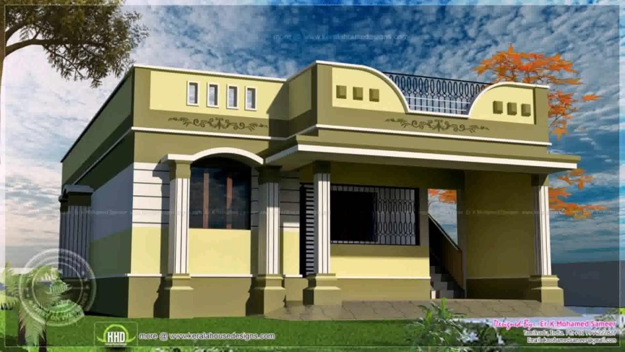 House Design Tamilnadu Style - YouTube