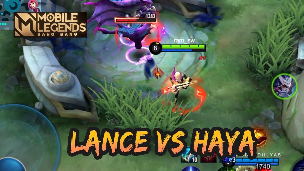 AGGRESSIVE LANCELOT VS HAYABUSA | GAMEPLAY #112 | MOBILE LEGENDS BANG BANG