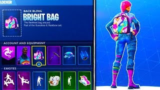 HOW TO UNLOCK THE NEW BRITE BAG In Fortnite - Fortnite Battle Royale Brite Bag UNLOCKED!
