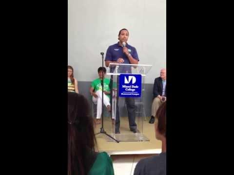 Beverly Tate Scholarship Presentation - Miami Dade College -2013
