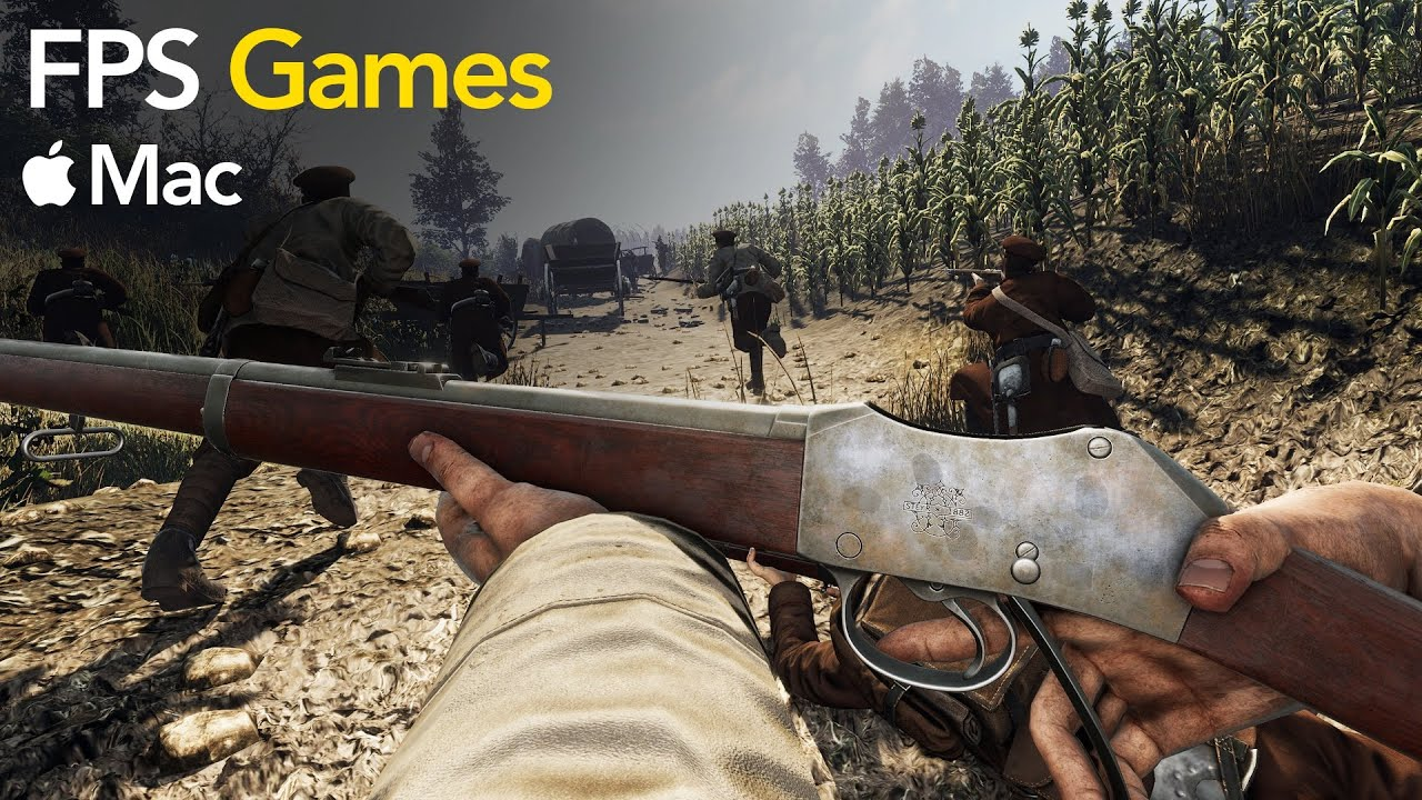 top 10 free fps games for mac