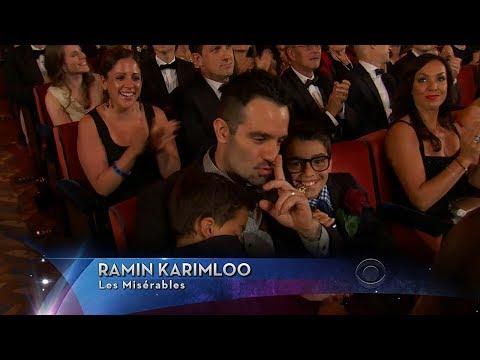 Every Moment of Ramin Karimloo at 2014 68th Annual Tony Awards