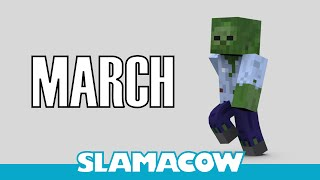 Repeat youtube video Dave's March - Minecraft Animation - Slamacow