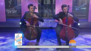 2Cellos Game of Thrones medley live on The Today
