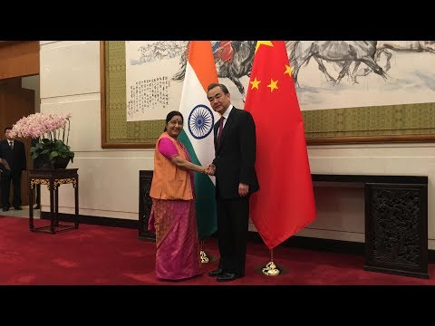 Chinese FM Wang Yi meets Indian counterpart in Beijing