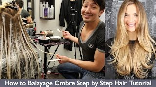 One of Guy Tang's most viewed videos: How to Balayage Ombre Step by Step Hair Painting