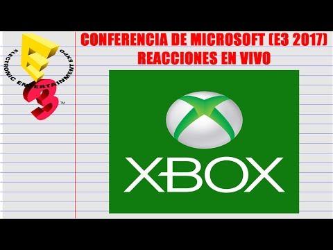 Reacción en vivo: Conferencia de Microsoft (E3 2017)