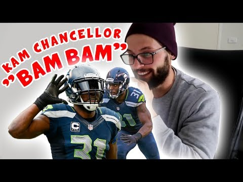 Rugby Player Reacts to KAM CHANCELLOR Bam Bam NFL YouTube Video