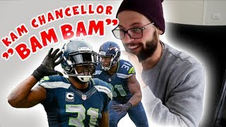 """Rugby Player Reacts to KAM CHANCELLOR """"Bam Bam"""" NFL YouTube Video"""