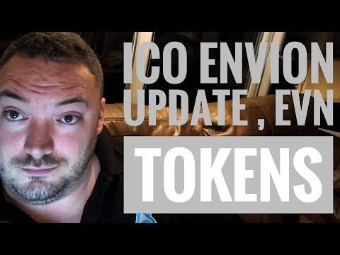 Ico Envion update EVN tokens