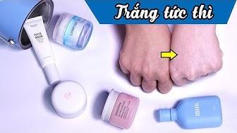 Review 5 kem dưỡng nâng tone da Hàn Quốc - White Tone Up Cream làm trắng da tức thì | Tiny Loly