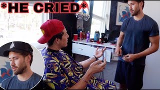Confronting Jeff Wittek about our beef!!! ( EMOTIONAL! )