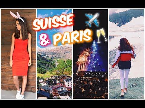 LE DÉBUT DES VACANCES ☀️  (Suisse + Versailles/Paris)