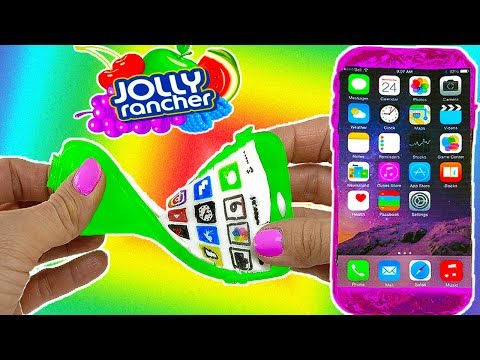 DIY: 7 EDIBLE GUMMY iPHONES! Flexible & Bendable! Jolly Ranchers, Coke Bottles, Starbursts & More!