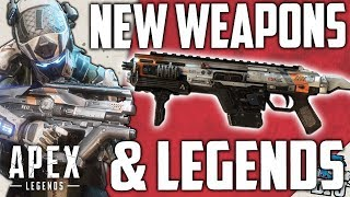 Apex Legends - New CHARACTERS, WEAPONS & LOOT - Full Road Map & Upcoming Season Details
