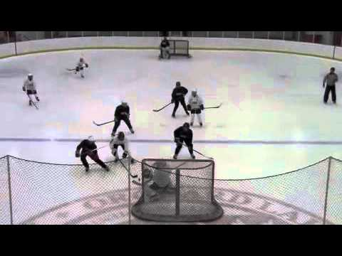 Half Ice 4 Vs 4 With Center Line Small Area Game Youtube