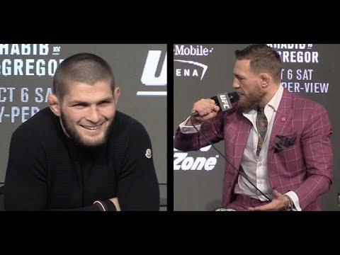 Conor McGregor Says Khabib Nurmagomedov was a Fanboy Who Became a Rat (UFC 229)