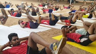 Running CORE WORKOUTS FOR ARMY 1600 MTRS RUN and police constable 800 Run by Ayaan Institute