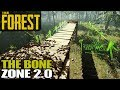THE BONE ZONE 2.0 | The Forest | Let's Play Gameplay | S15E04