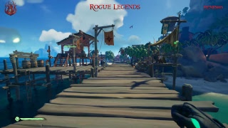 Rogue Legends Sea of Thieves Shrouded Spoils | Multi Camera Live Stream