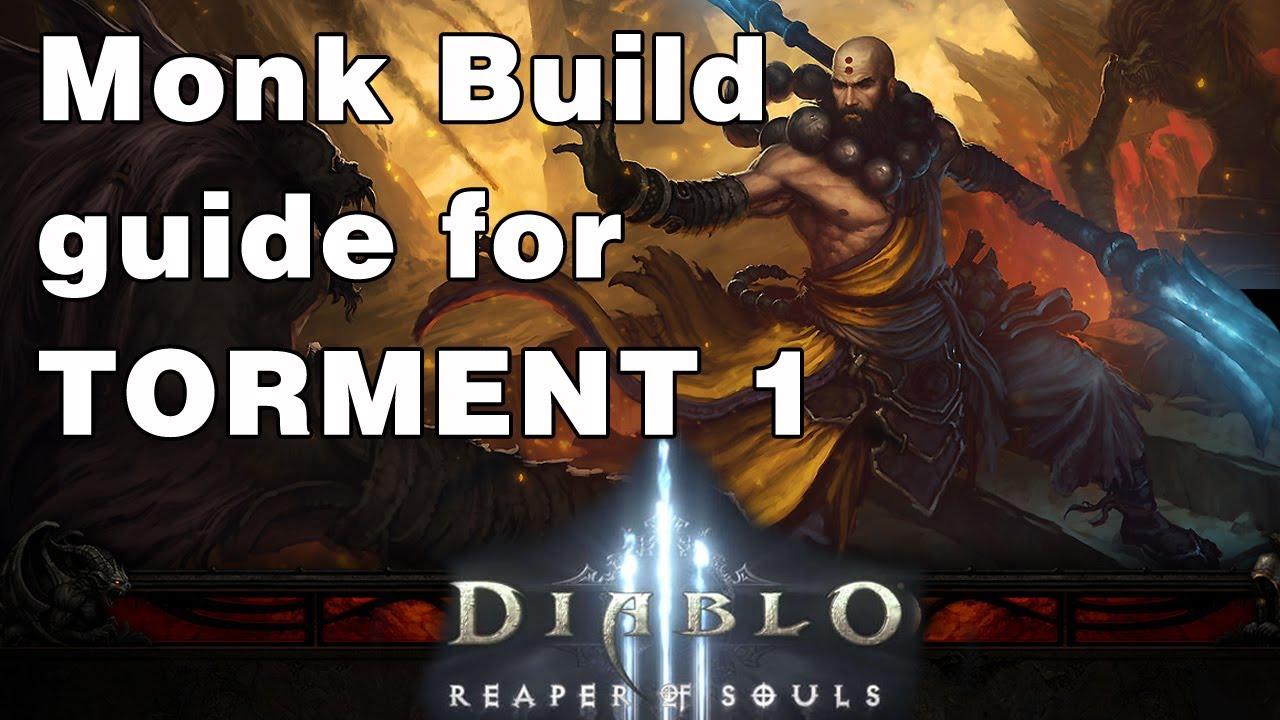 Download D3 | Reaper of Souls | Monk Build for Torment Level 1