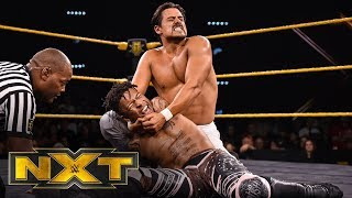 Lio Rush vs. Angel Garza - NXT Cruiserweight Championship Match: WWE NXT, Dec. 11, 2019