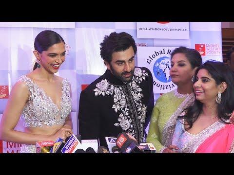 Ranbir Kapoor, Deepika Padukone FULL INTERVIEW At Mijwan Fashion Show 2018 Show By Manish Malhotra