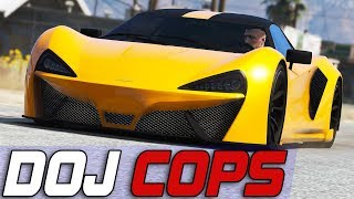 Dept. of Justice Cops #716 - Drifting Accident