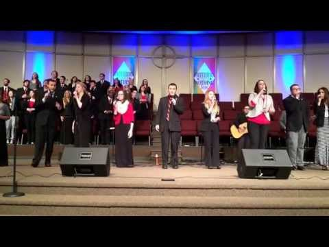 "North Greenville University - Joyful Sound sings ""Oh Happy Day"""