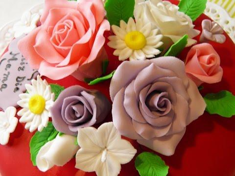 Rapida Tecnica de Hacer Mini Rosas para Decorar Pasteles- Hogar Tv  por Juan Gonzalo Angel