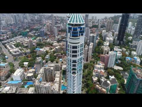 Aerial view of Mumbai - BrainWing Dronefie