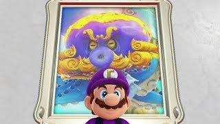 Super Mario Odyssey - All Boss Rematches (Mushroom Kingdom)