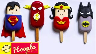 Justice League Cakes | Justice League 2021 Cakesicles | Hoopla Recipes
